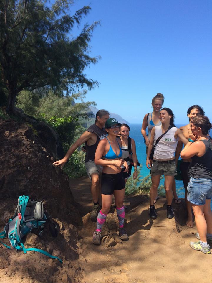 Na Pali coast hike